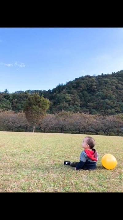 休みの日に公園に遊びに行ってきました♪