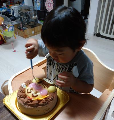 息子2歳の誕生日&アンパンマンミュージアム