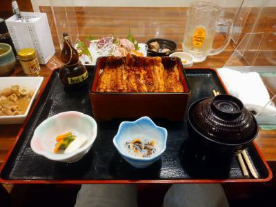 鎌倉へ...旅の途中鰻を食べました(^^