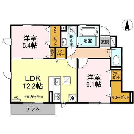 サニーハウス101 間取.jpg
